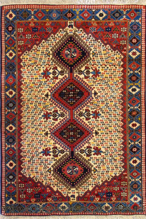 Yalameh Geometric Hand Knotted Wool Rug Rugs Persian Rug Rugs On Carpet