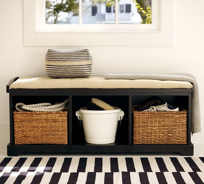 Samantha Bench Storage Bench With Cushion Bench With Storage Decor