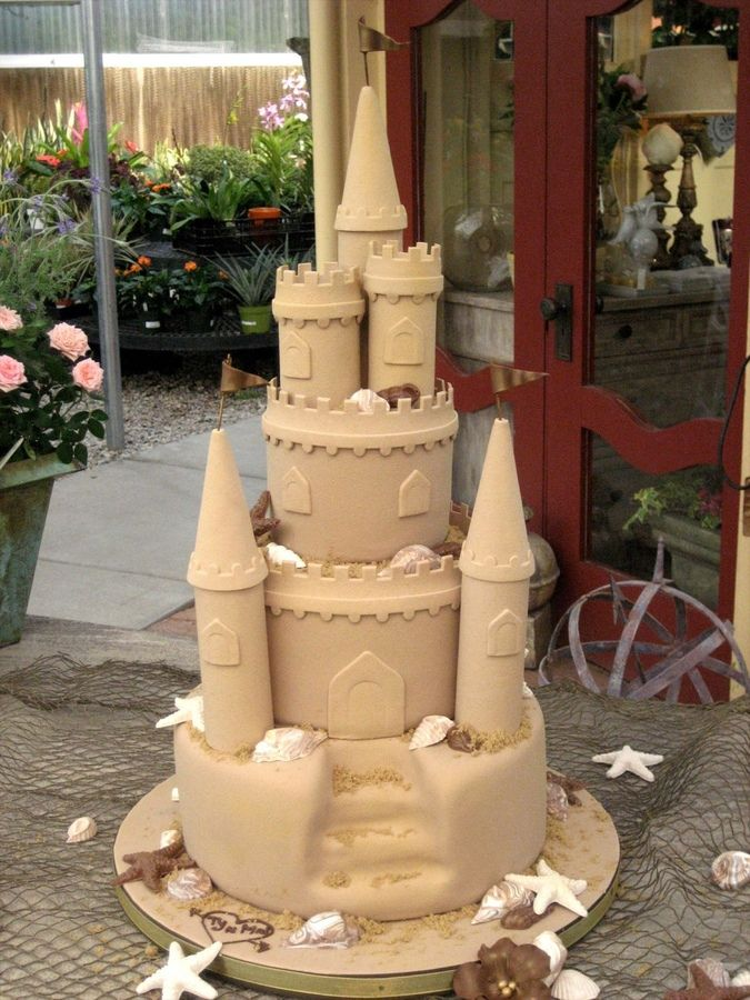 I Never Thought This One Would Come Together Wedding Cake For A