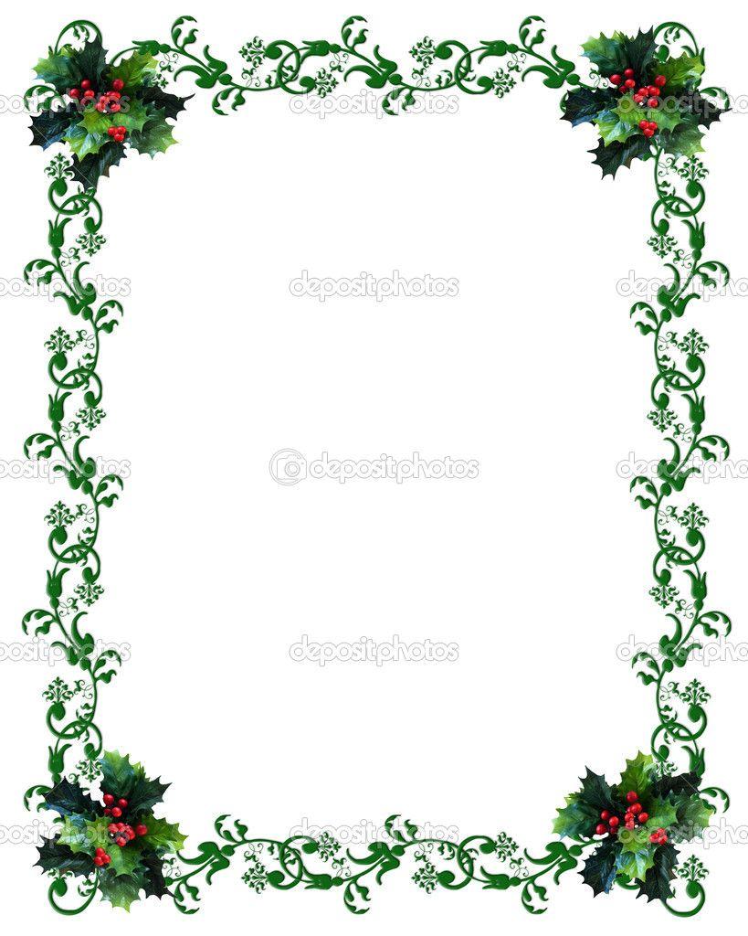 vorlagen weihnachten rahmen 03 | Kübel bepflanzen | Pinterest ...