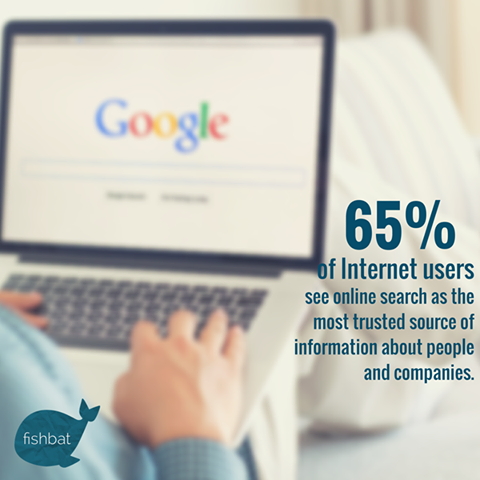 What do people see when they search your business?  #SEO #digitalmarketing #socialmedia #marketing #online #stat