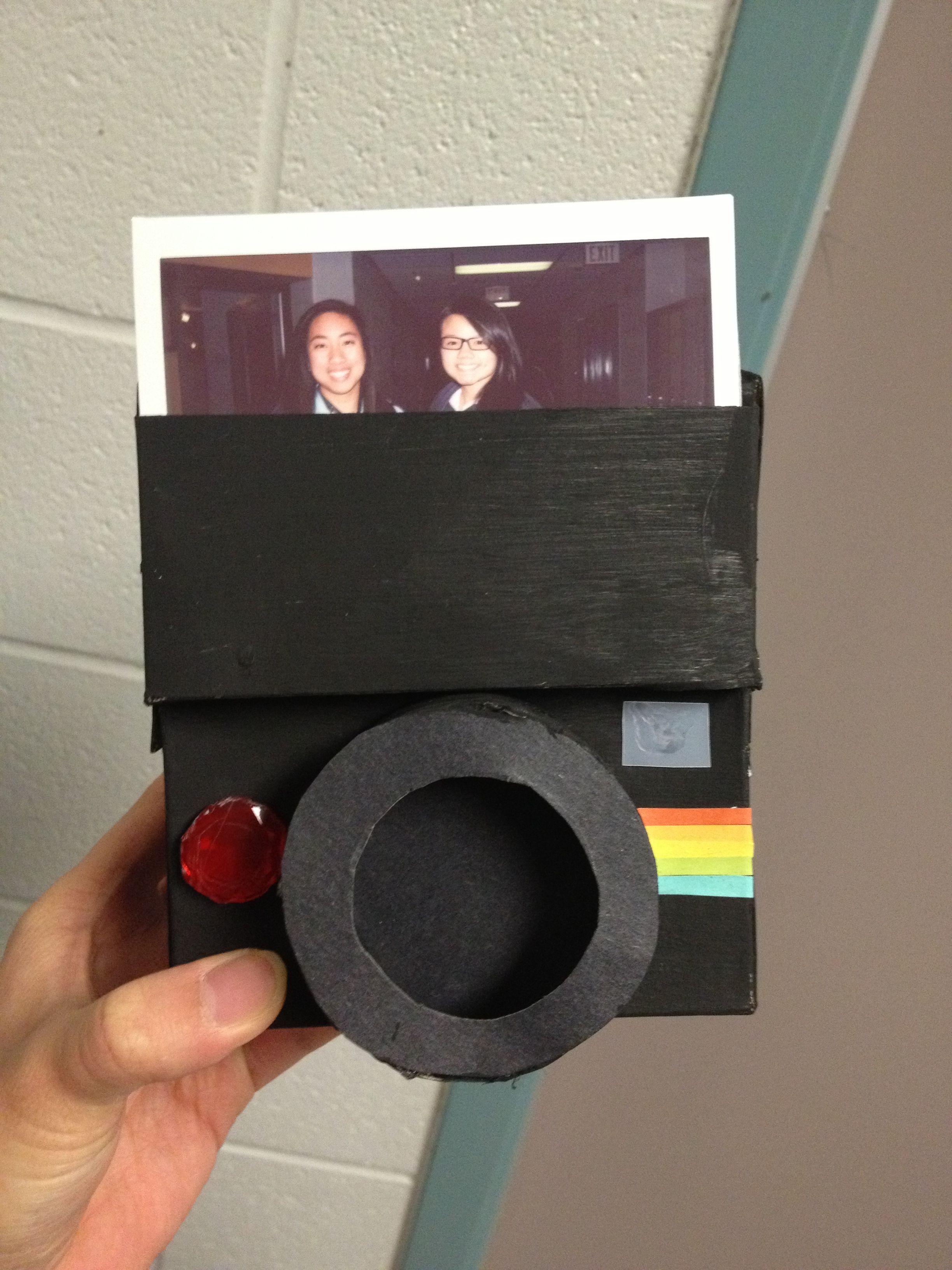 Birthday Polaroid card for my best friend DIY Birthday