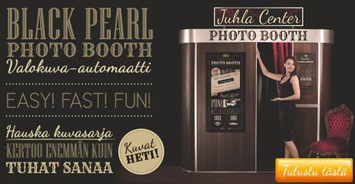 Black Peal #Photobooth, oli mukana meidän häissä ja oli todella hauska ohjelmanumero. En voi kuin suositella. :) #Juhlat #häät #Photobooth #rekvisiitat #riihimäki
