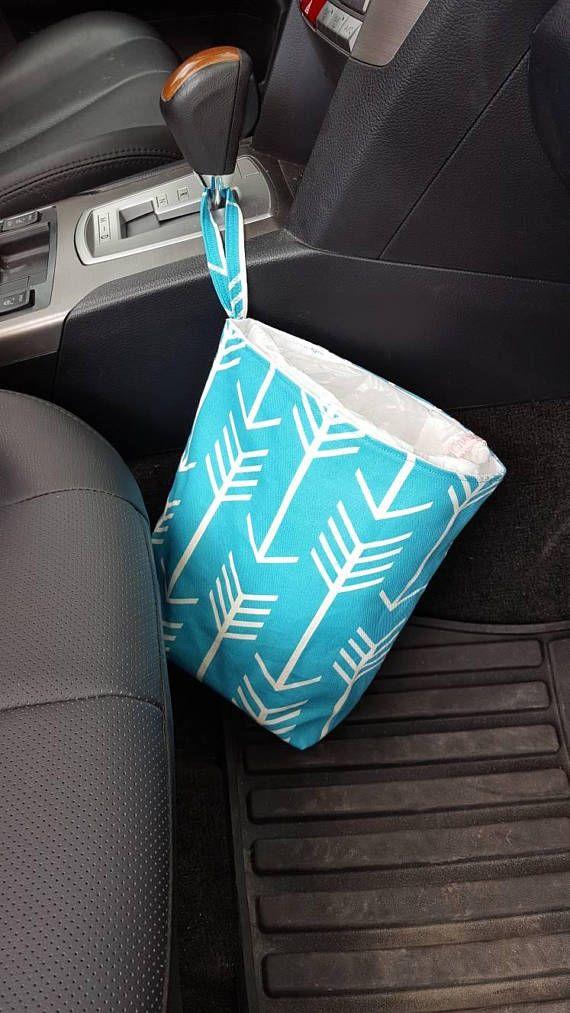 Car Trash Bag Litter With Disposable Liner