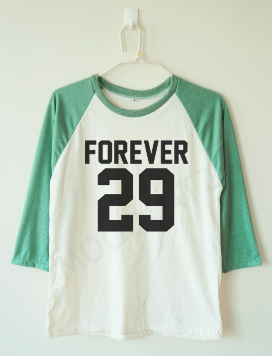 30th Birthday Gift Ideas for Him / Her: Forever 29 Womens ...