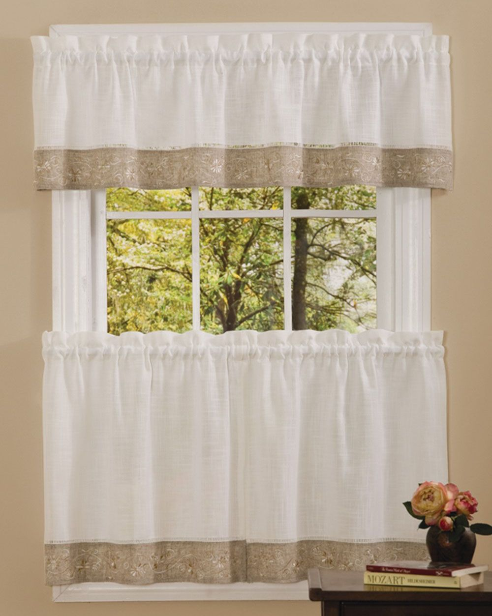 Oakwood Kitchen Tier Curtain Kitchen Curtains Colorful Curtains