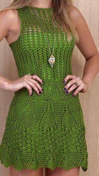 vestido de croche 14