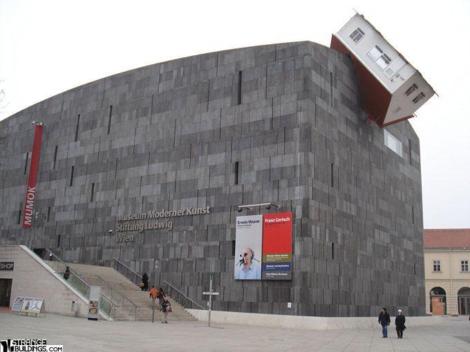 Musee Arts Modernes Architecture Building Unique Buildings