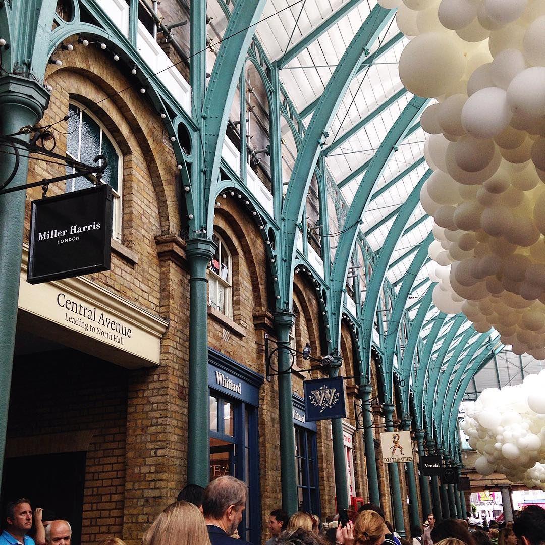 """""""So pretty ☺️ #London #coventgarden"""""""