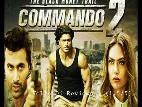 Commando   Movie Review  Vidyut Jamwal And Adah Sharma