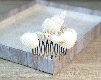 Beach Wedding Hair Comb Beach Hair by NatalieHaganDesigns on Etsy