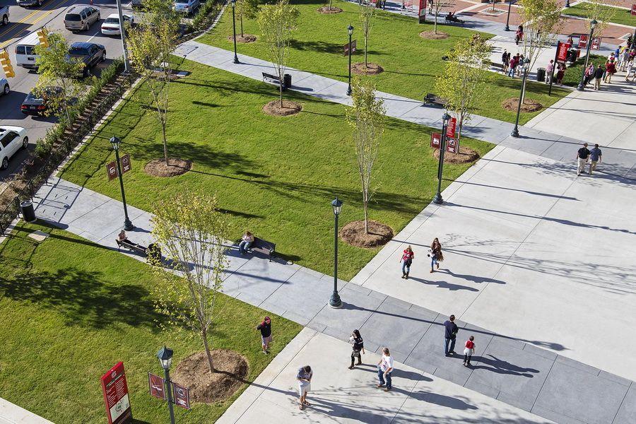 USC WBS Springs Brooks Plaza Parking design, Urban