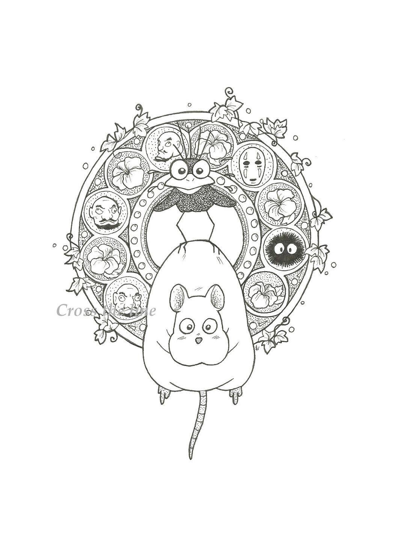 Pin By Annie Nelson On Studio Ghibli Ghibli Art Studio Ghibli Art Ghibli Tattoo [ 1440 x 1063 Pixel ]