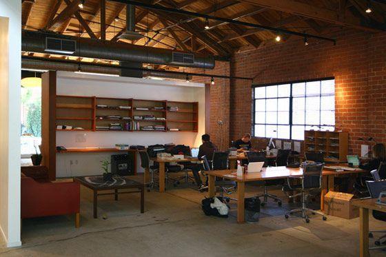 Mid Century Modern Industrial Office Bruce Bolander