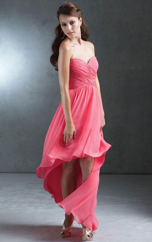 Elegant A-line Floor-length Dresses for Bridesmaid | Bridesmaid ...