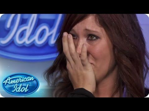 Auditioning For American Idol Can Be A Very Emotional Experience Grab A Hanky And Watch Our More Emotional Contestants Turn On The American Idol American Idol