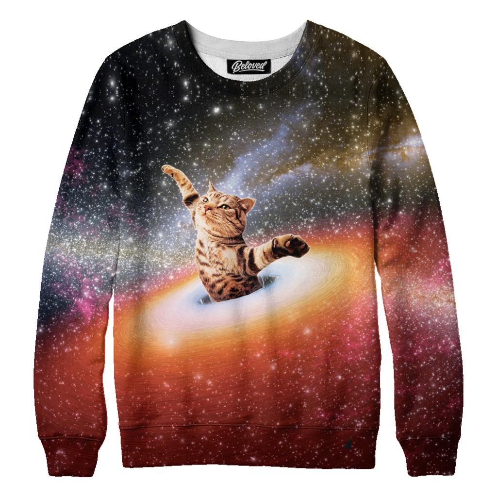 Kitty Stellar Sweatshirt Sweatshirts Beloved Shirts Hoodies Men Pullover [ 1024 x 1024 Pixel ]