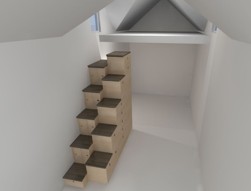 Alternating Tansu Stairs Named U0027Stair Of The Weeku0027 At TreeHugger!