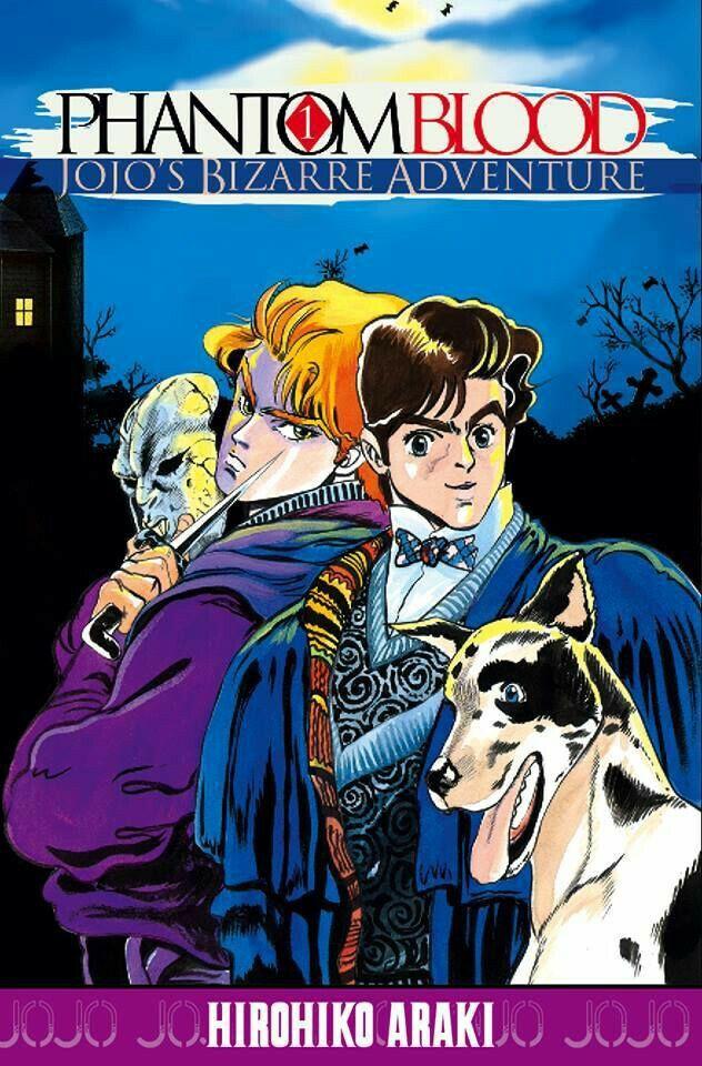 JoJo's Bizarre Adventure Part1 Phantom Blood Vol.1 Cover
