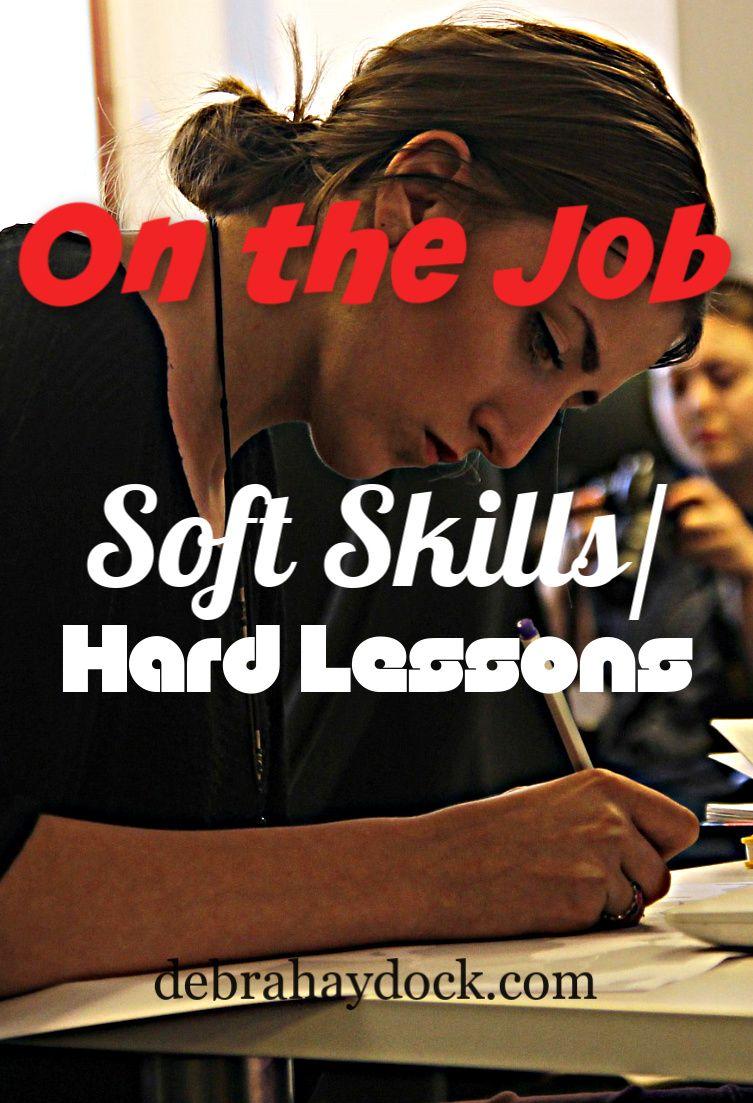 On the job soft skillshard lessons interview skills