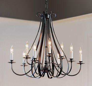 Sweeping taper 9 arm chandelier 101469 chandeliers entertain sweeping taper 9 arm chandelier 101469 aloadofball Images