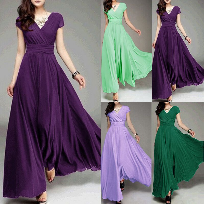 Formal Evening Prom Party Bridesmaid