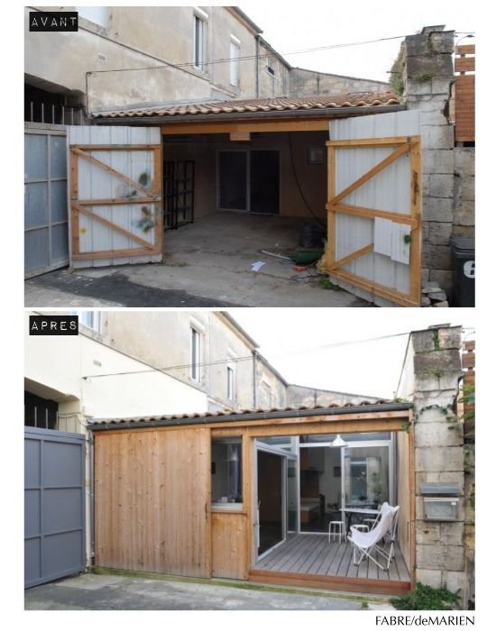 home sweet home : la reconversion d'un garage en habitation ... - Transformer Un Garage En Logement