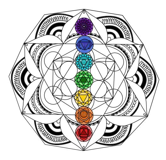 Espacio Mandala Sacred Geometry Symbols Mas Simbolos Geometricos Sagrados Tatuaje De Geometria Sagrada Arte De La Geometria Sagrada