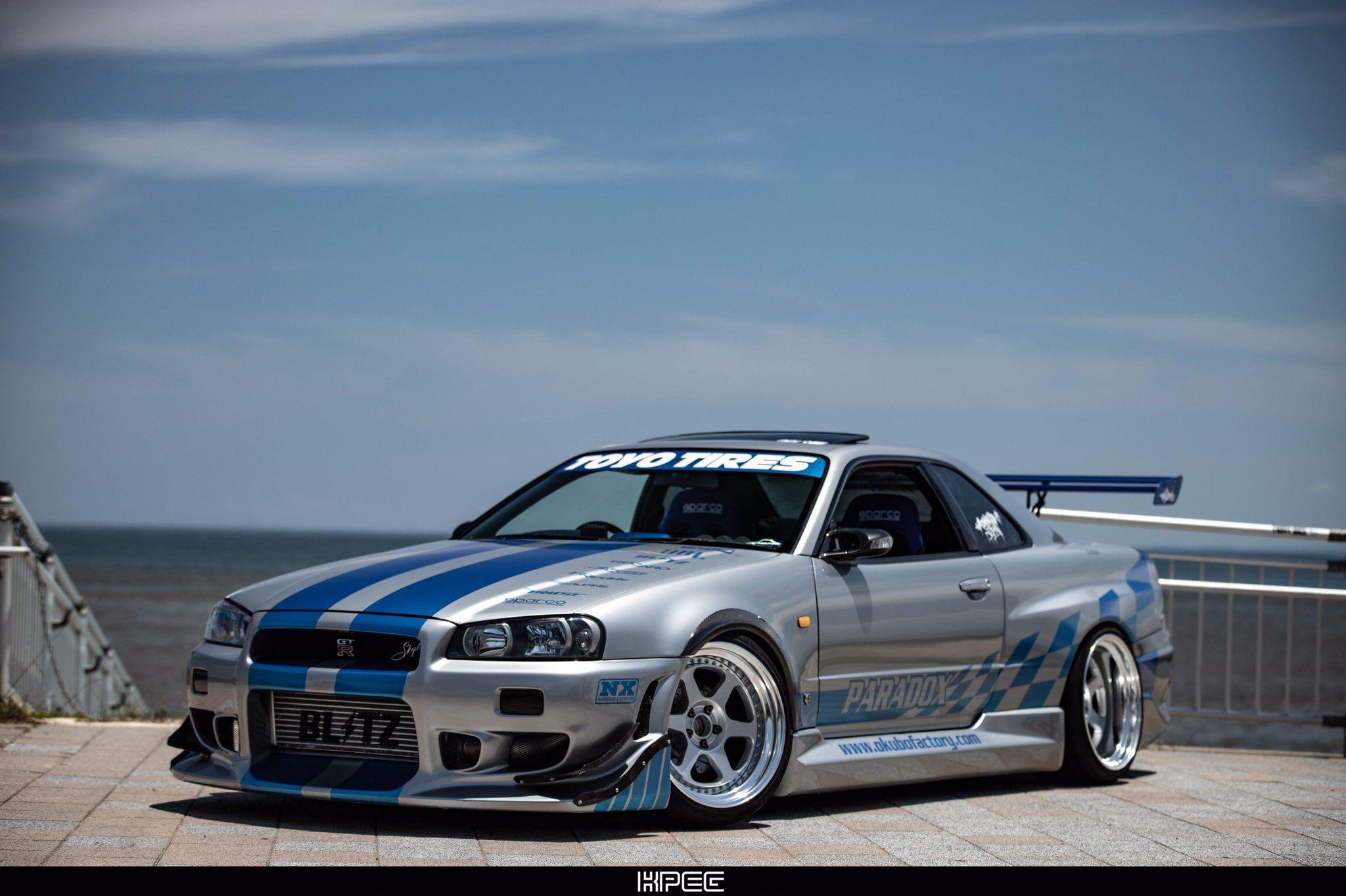 R34 Gtr Wallpaper With Images Nissan Skyline Nissan Cars Car