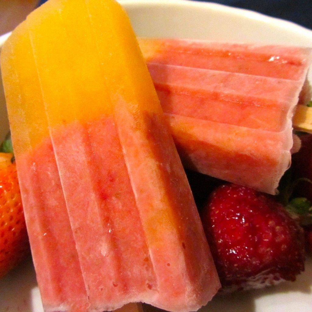 Strawberry Mango Coconut Pops..... Delicious.... mom i found the PERFECT SUMMER TREATS