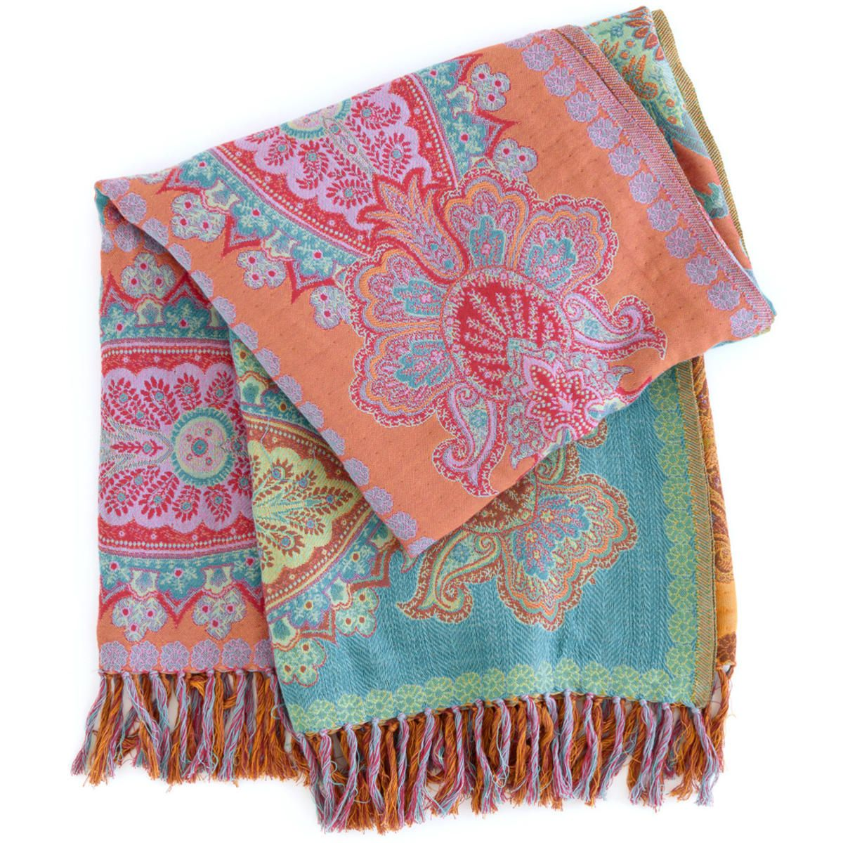 Pine Cone Hill Aran Throw This Traditional Indian