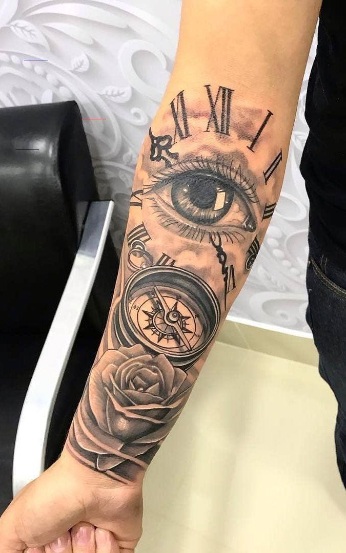 #armsleevetattoos in 2020 | Tattoos unterarm, Tattoo ideen