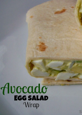 Avocado Egg Salad Wrap Jennifer Robertson, Independent Distributor for Advocare
