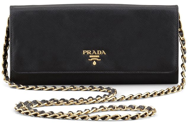 Prada Wallet on Chain Bags #chainbags