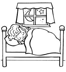 Resultado De Imagen Para Cama Dibujo Kids Playtime Coloring Pages Bedtime
