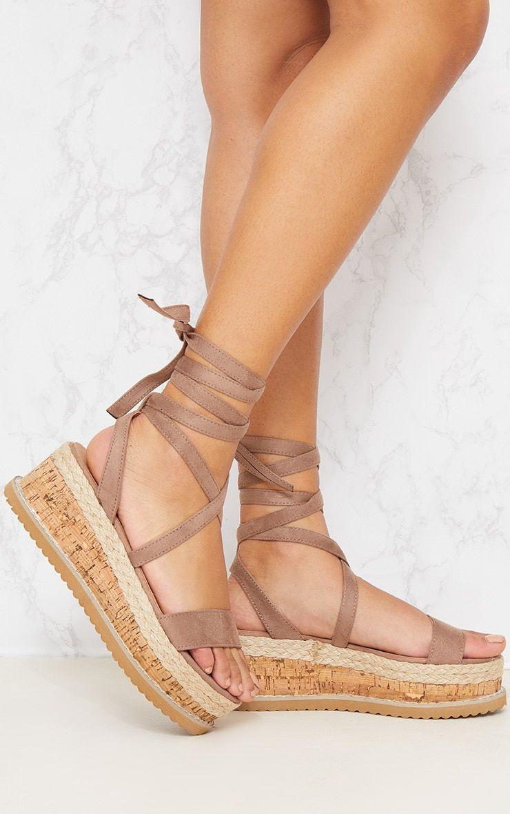 377d2b2693a Niella Mocha Espadrille Flatform Sandal | shoes shoes shoes ...