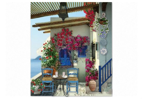 Check out this moodboard created on @olioboard: front porch in island... by mtselepi