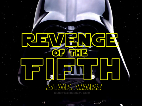 Revenge of the 5th | Revenge, Star wars birthday, Star wars