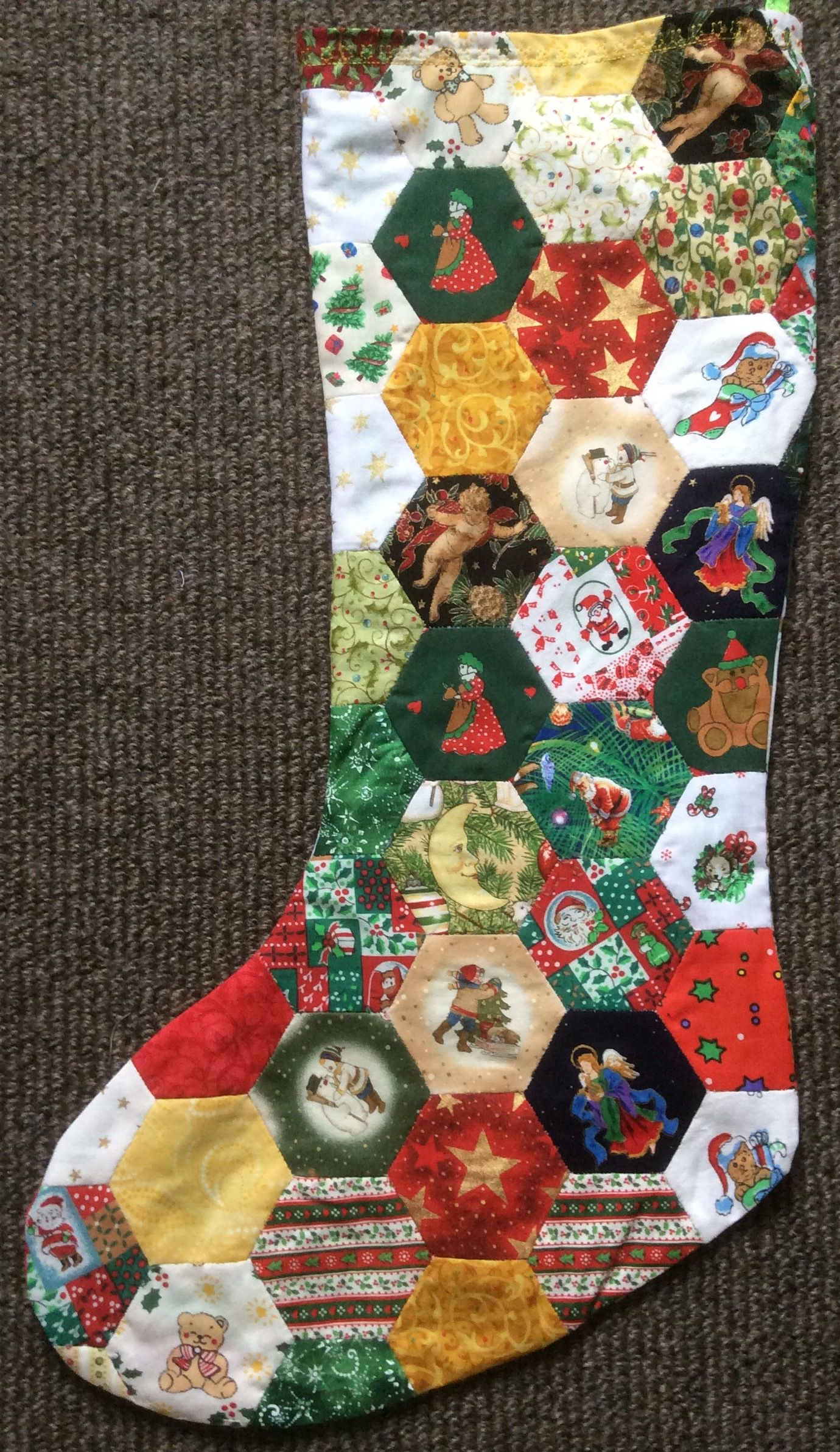 My Friend Judy Made This Lovely Stocking For My Grandson