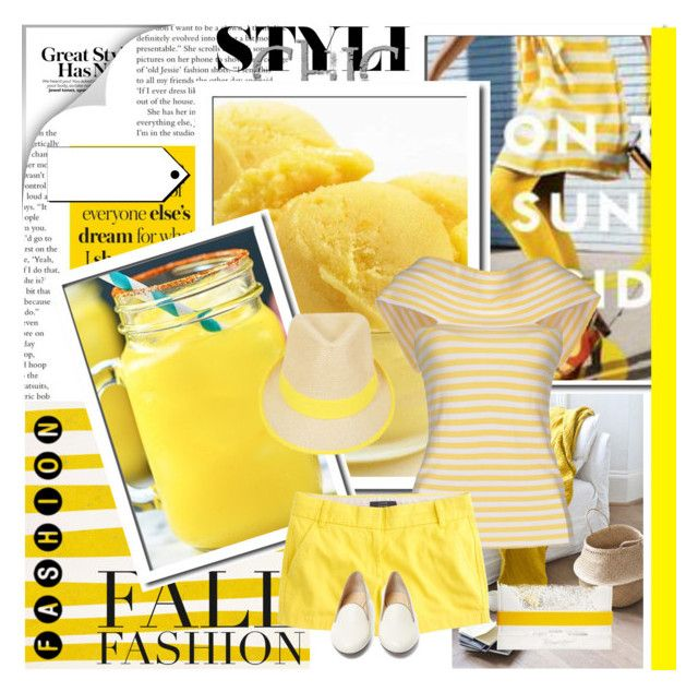 """""""the beautiful life is yellow and white"""" by bodangela ❤ liked on Polyvore"""