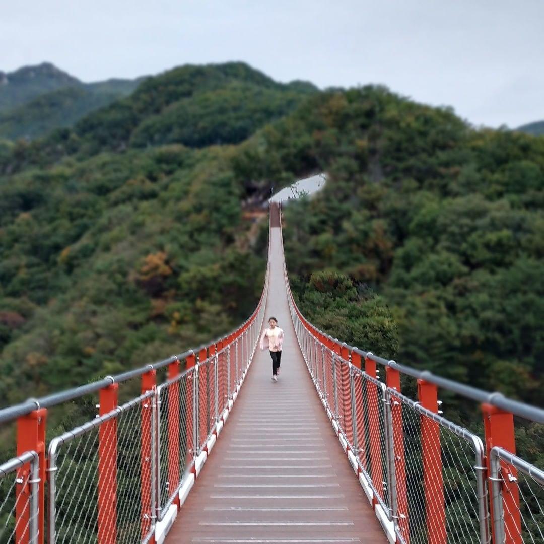 Gamaksan Suspension Bridge | Hiking national parks, Seoraksan national  park, Best hikes