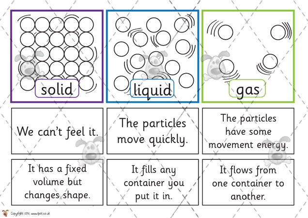 Teacher S Pet Solids Liquids And Gases Sorting Premium