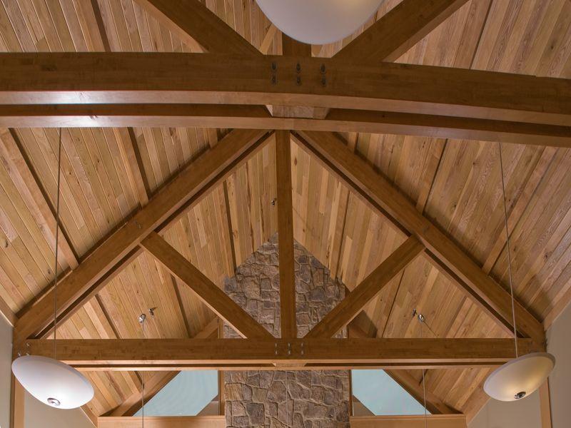 Image Result For Laminated Wood Roof Trusses Hanger Design Wood Roof Roof Trusses