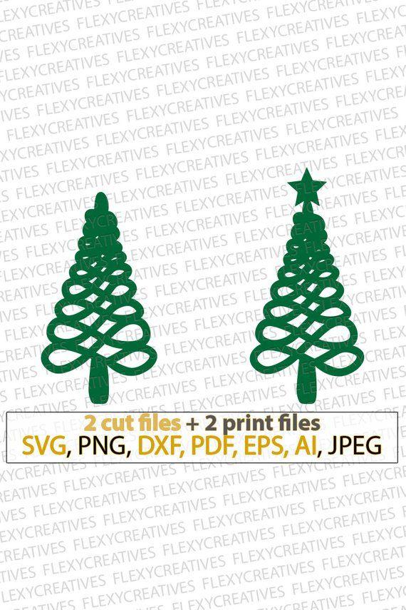 Non Hole Christmas Tree Earring Svg Pendant Leather Earring