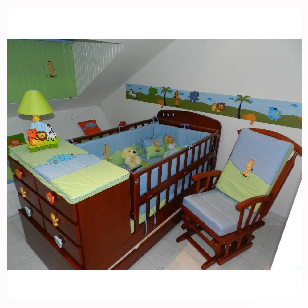 cama cunas de madera Buscar con Google cuarto para bebe