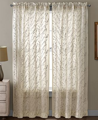 Victoria Clics Sheer Berkley 54 X 95 Panel Curtains D For The Home Macy S