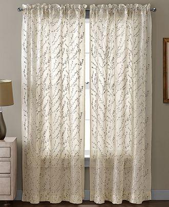 "victoria classics sheer berkley 54"" x 95"" panel - curtains"