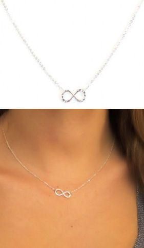 Tiny Infinity Love Knot Necklace <3