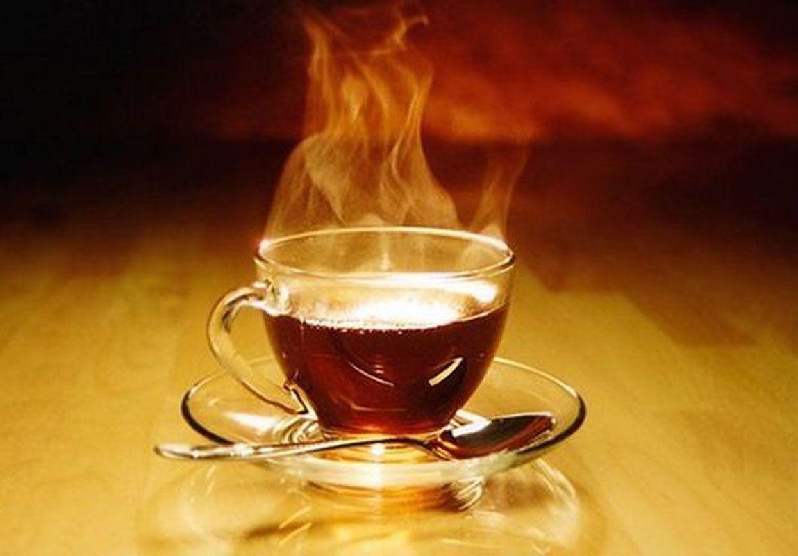 горячий чай при ангине