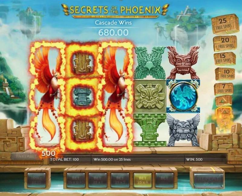 Cascading Slot Games